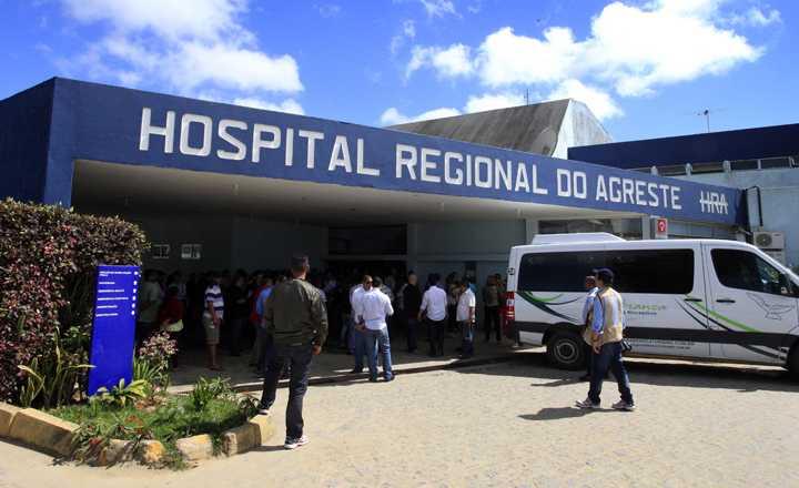 Hospital Regional do Agreste, em Caruaru, passa a receber pacientes com COVID-19