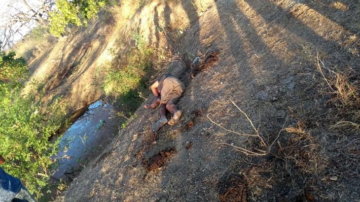 Homem assassinado com golpes de estrovenga em Riacho das Almas