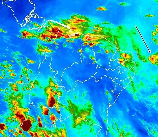 APAC emite alerta de chuva forte para Fernando de Noronha