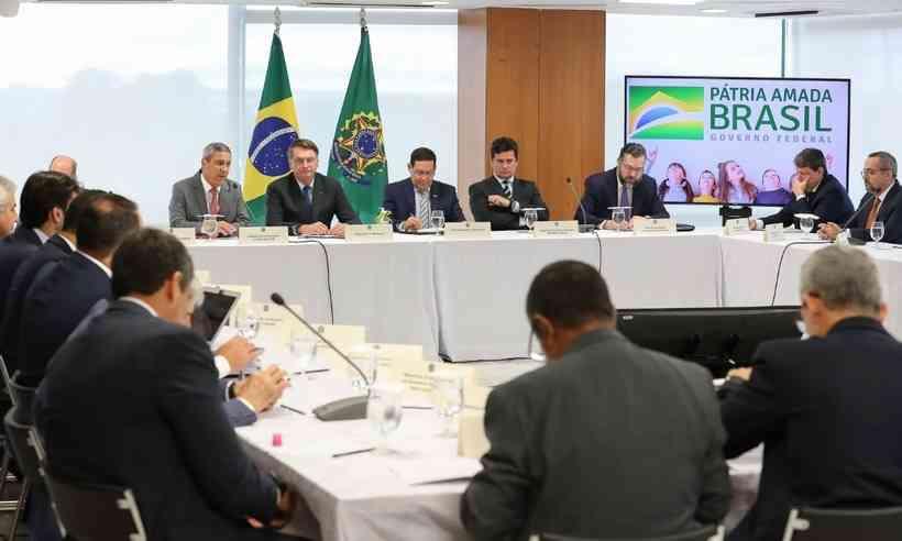 Vídeo de reunião com Bolsonaro está entre os assuntos mais comentados do Brasil