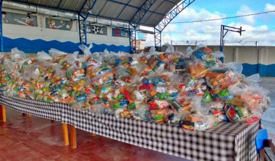 Em Chã Grande: 5 mil kits de merenda serão entregues para alunos da rede municipal