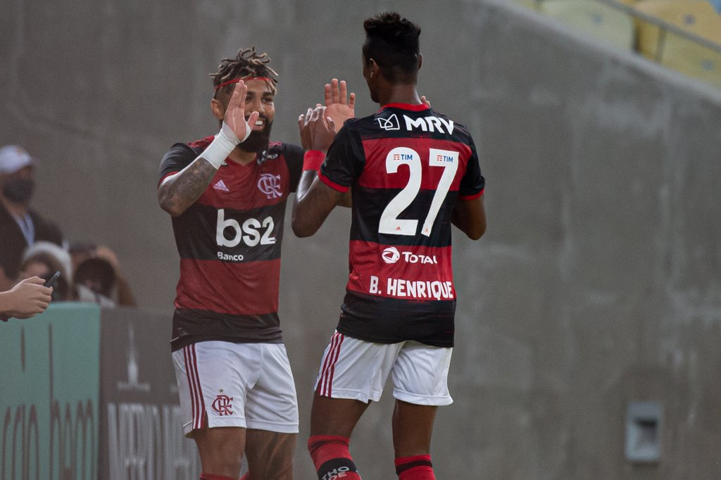 Na volta do Carioca, Flamengo vence o Bangu por 3 a 0 no Maracanã