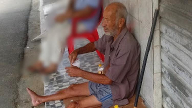Idoso de Gravatá, que vivia nas ruas de Amaraji é identificado e devolvido a família
