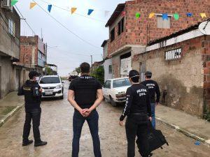 Polícia Civil deflagra operação em Caruaru para prender integrantes de organização criminosa