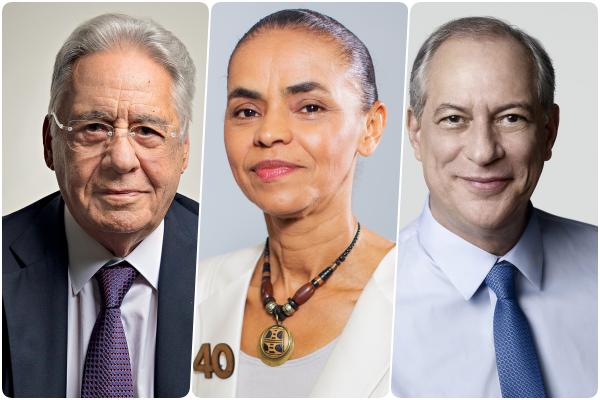 FHC, Marina e Ciro Gomes podem se unir numa frente democrática contra Bolsonaro
