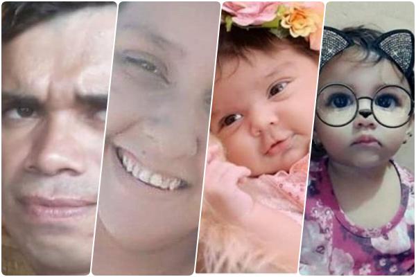 Tragédia: pai, mãe e filhas morrem durante incêndio em Bezerros