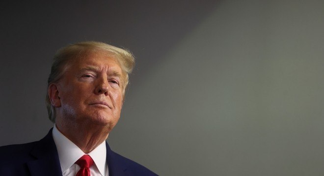 Presidente Trump é levado para bunker após manifestações