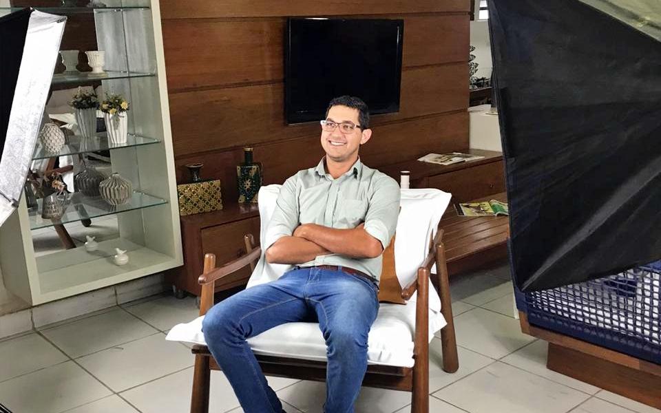 Bruno Sales está otimista com o desenrolar de sua pré-campanha para vereador