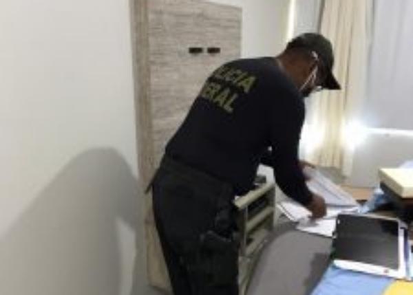 Polícia Federal realiza operação na Assembleia Legislativa de Pernambuco