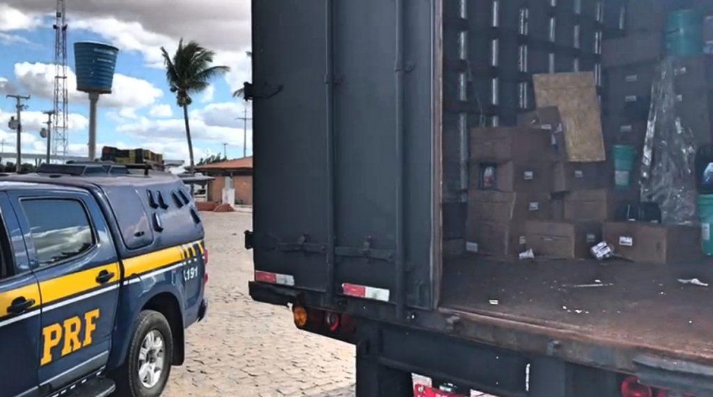 Dois homens são detidos com carga roubada em Petrolina