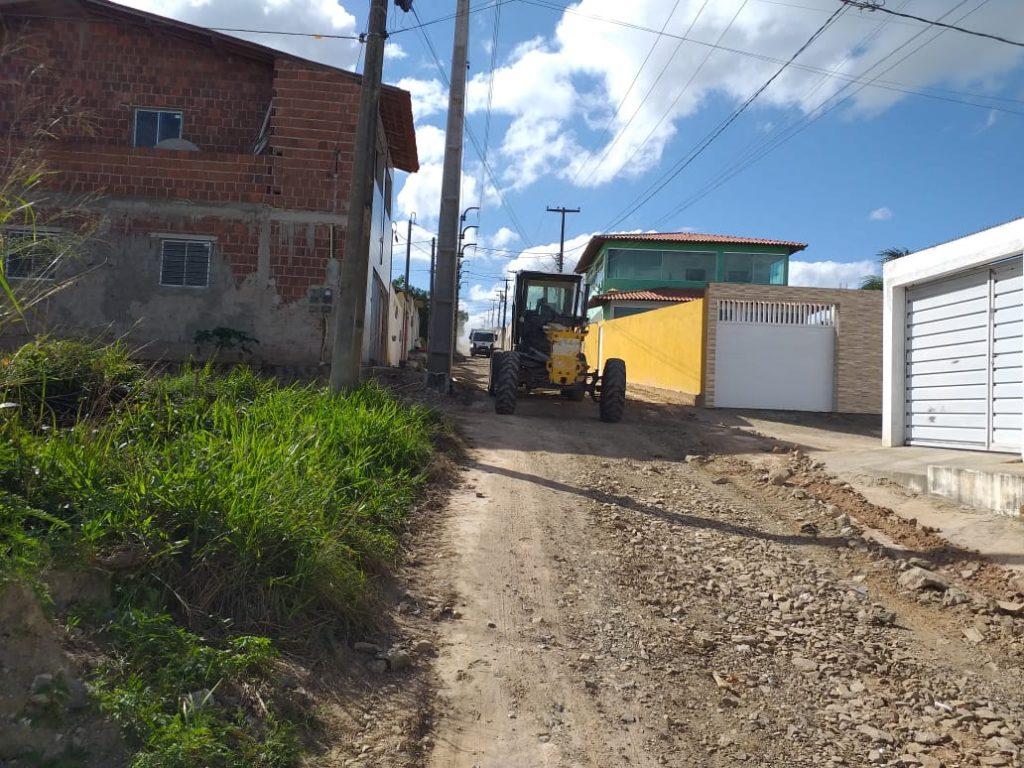 Gravatá: Loteamento Luziania recebe melhorias nas principais vias de acesso