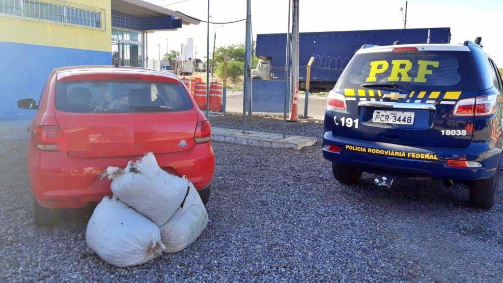Dois homens são detidos com 40 Kg de maconha em Serra Talhada