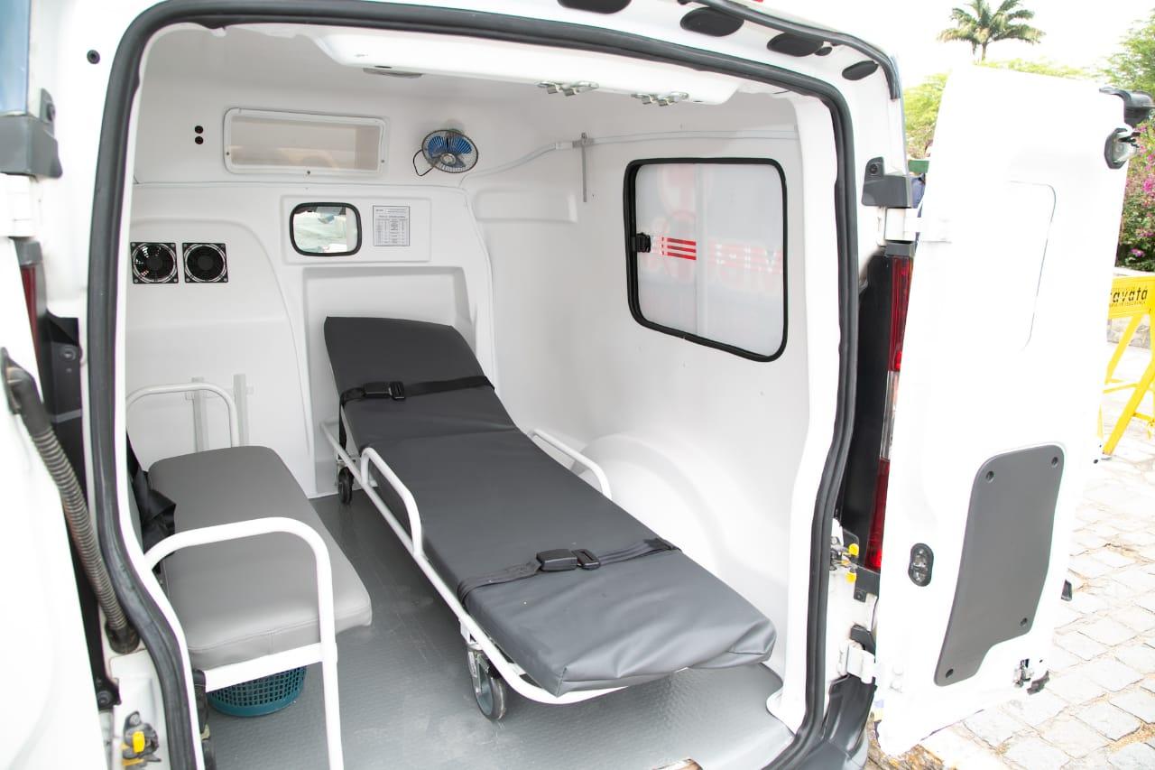 Distritos de Gravatá ganham reforço com chegada de 3 novas ambulâncias