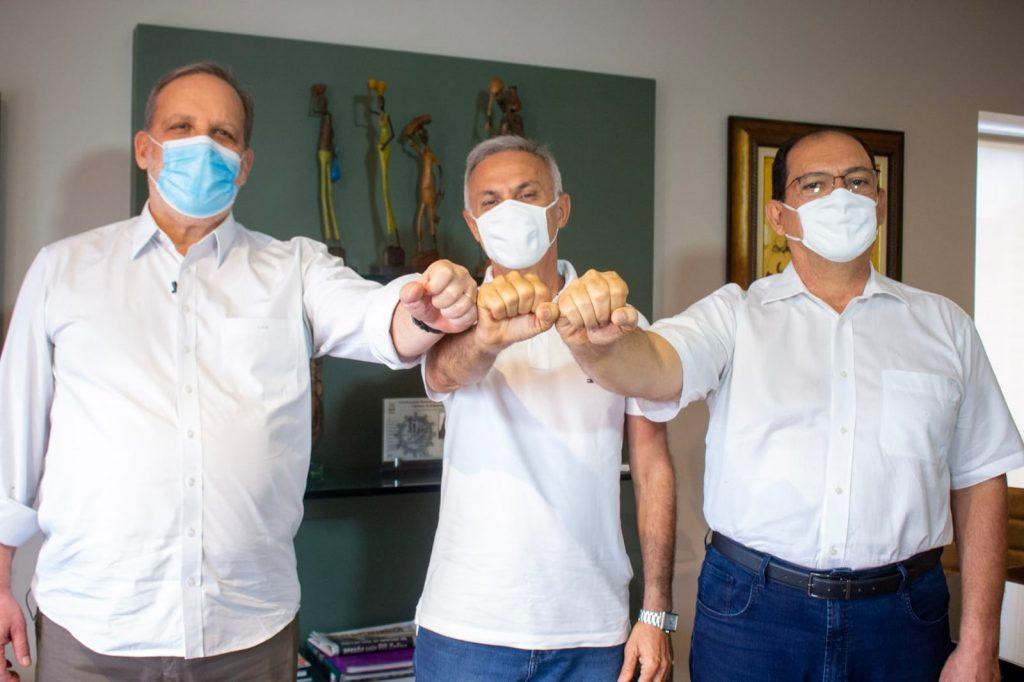 Armando Monteiro garante apoio a Paulo Roberto e Professor Edmo Neves, em Vitória
