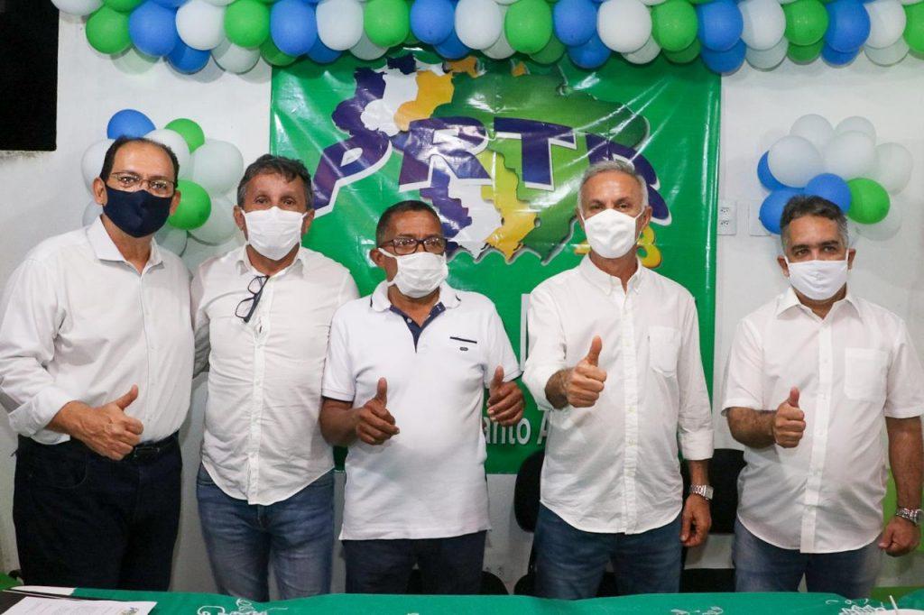 Paulo Roberto e Prof. Edmo recebem apoio do PRTB em Vitória de Santo Antão