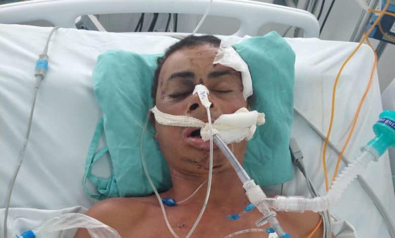 Quem são os familiares deste homem internado em UTI de hospital de Caruaru?